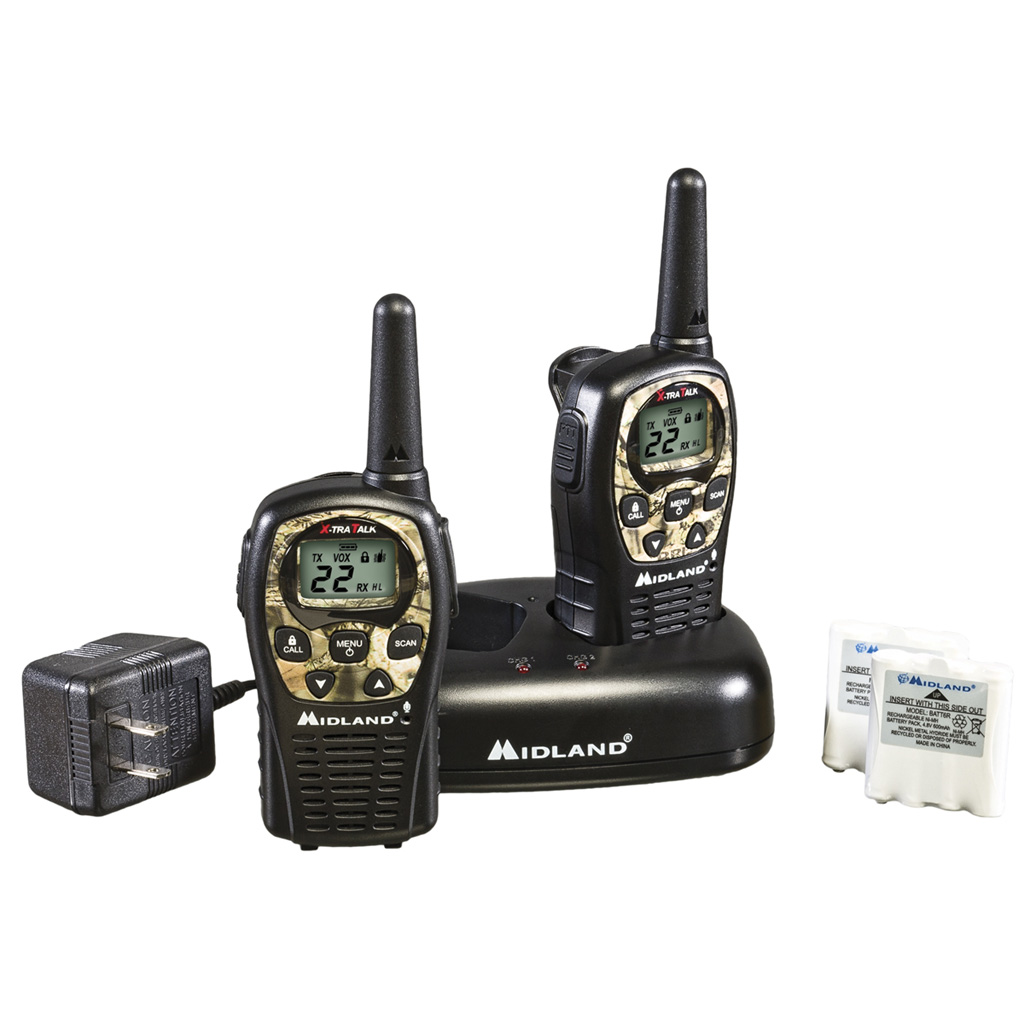 Midland LXT535VP3 2 Way Radio  <br>  w/ Batteries & Charger