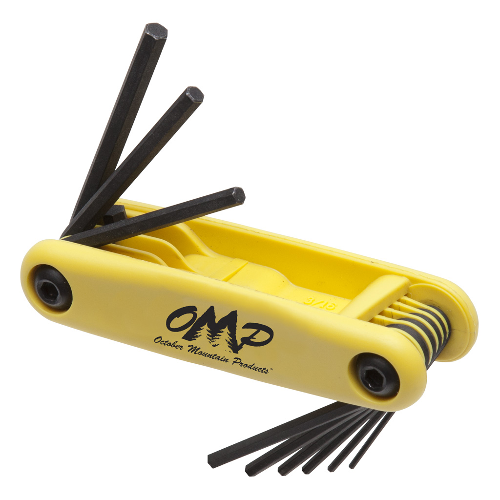 October Mountain Pro Shop Hex Wrench Set  <br>  .050 - 3/16 in.