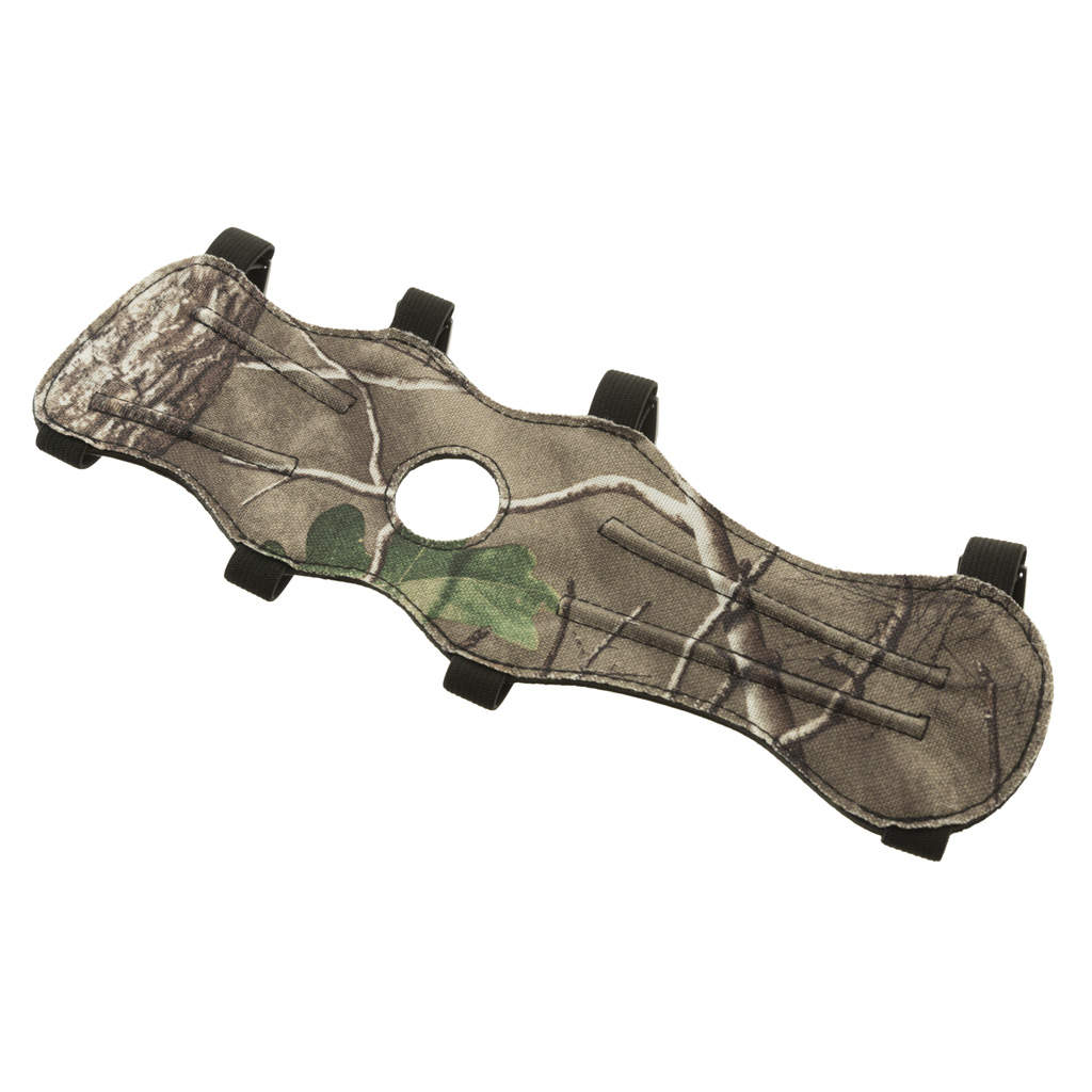 October Mountain Arm Guard  <br>  4 Buckle Camo