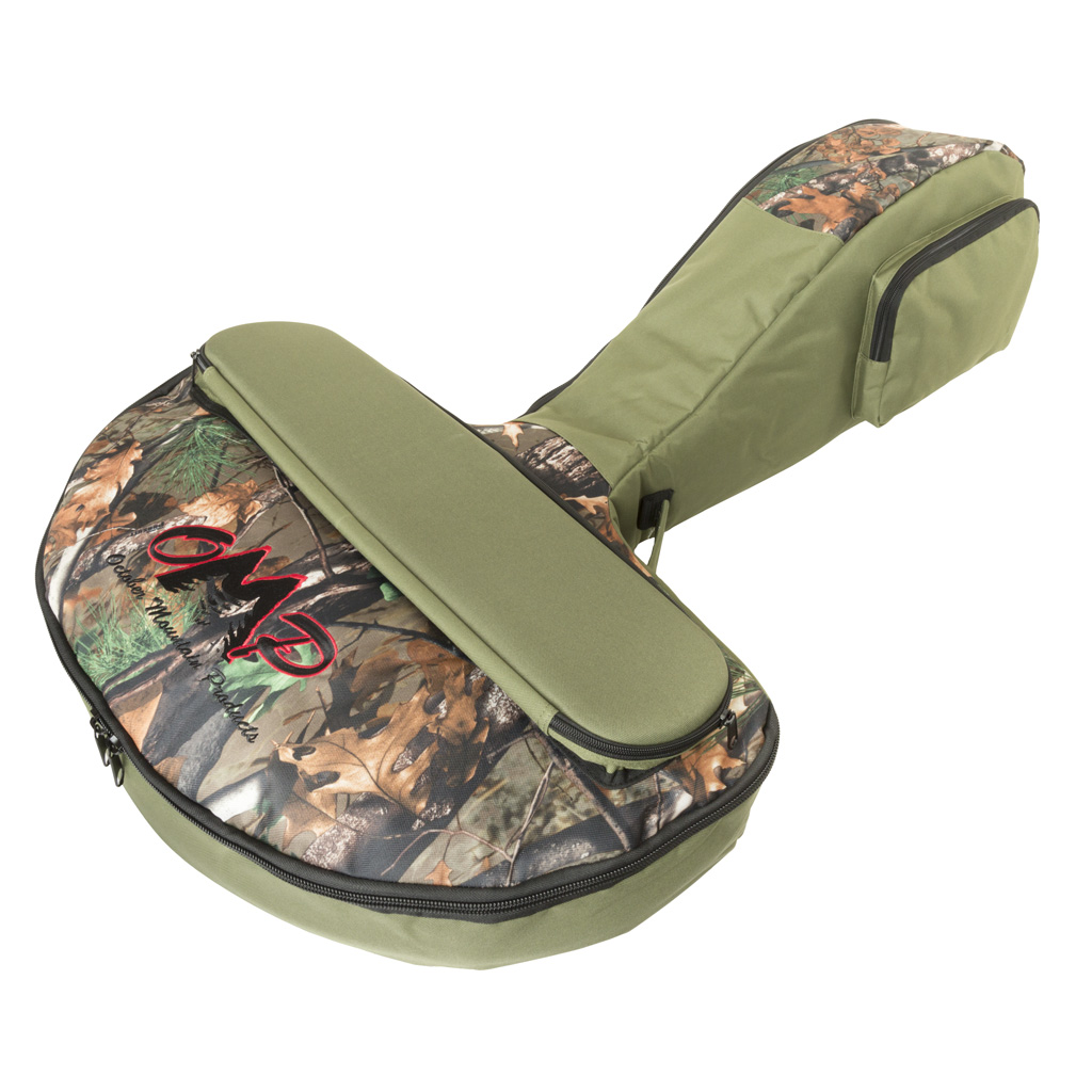 October Mountain Compact Crossbow Case  <br>  Green/Camo