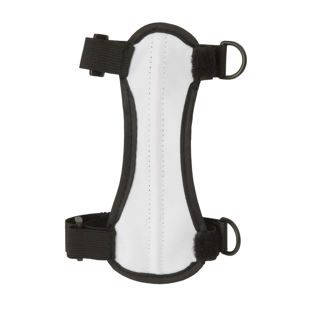 October Mountain Arm Guard  <br>  White