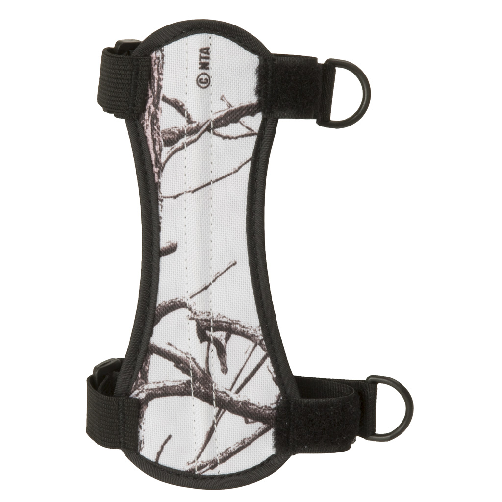 October Mountain Arm Guard  <br>  Snow Camo
