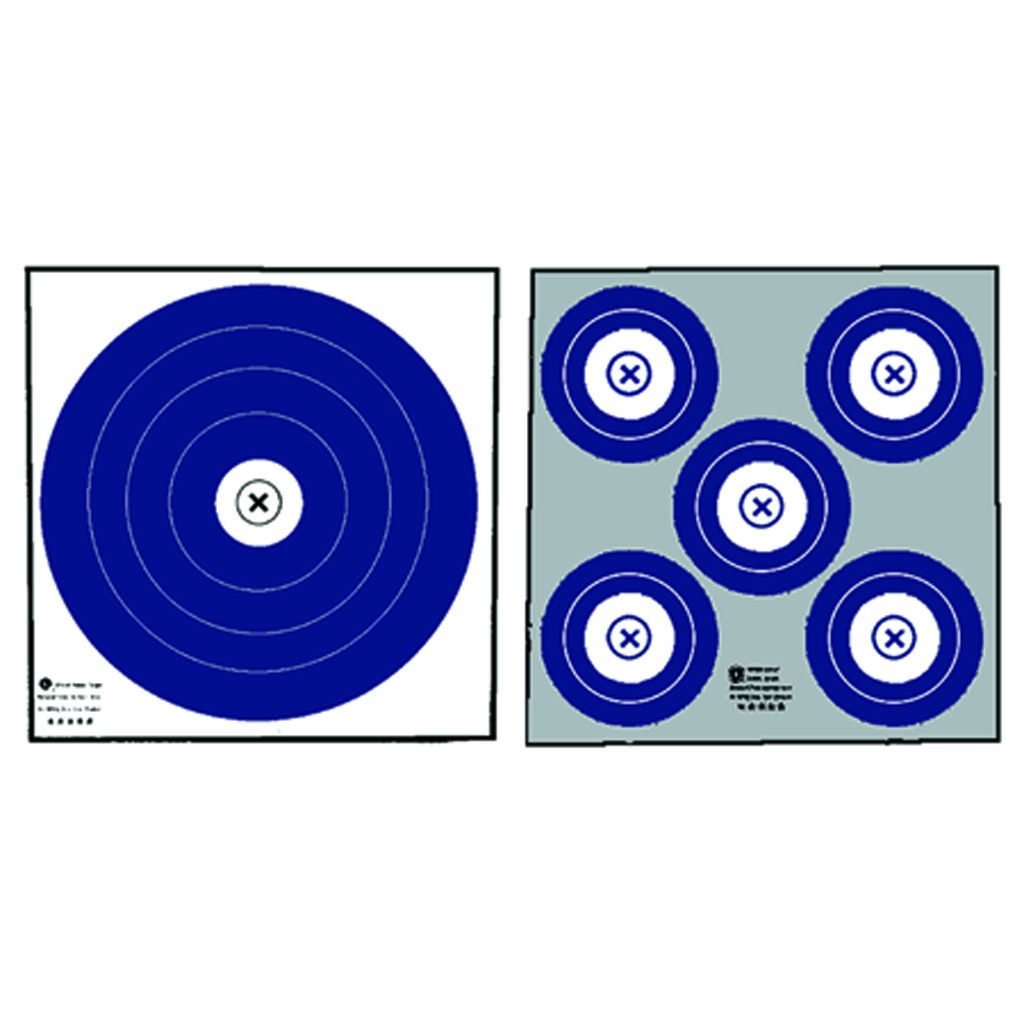 Maple Leaf Target Face  <br>  NFAA Double Sided Indoor 100 pk.