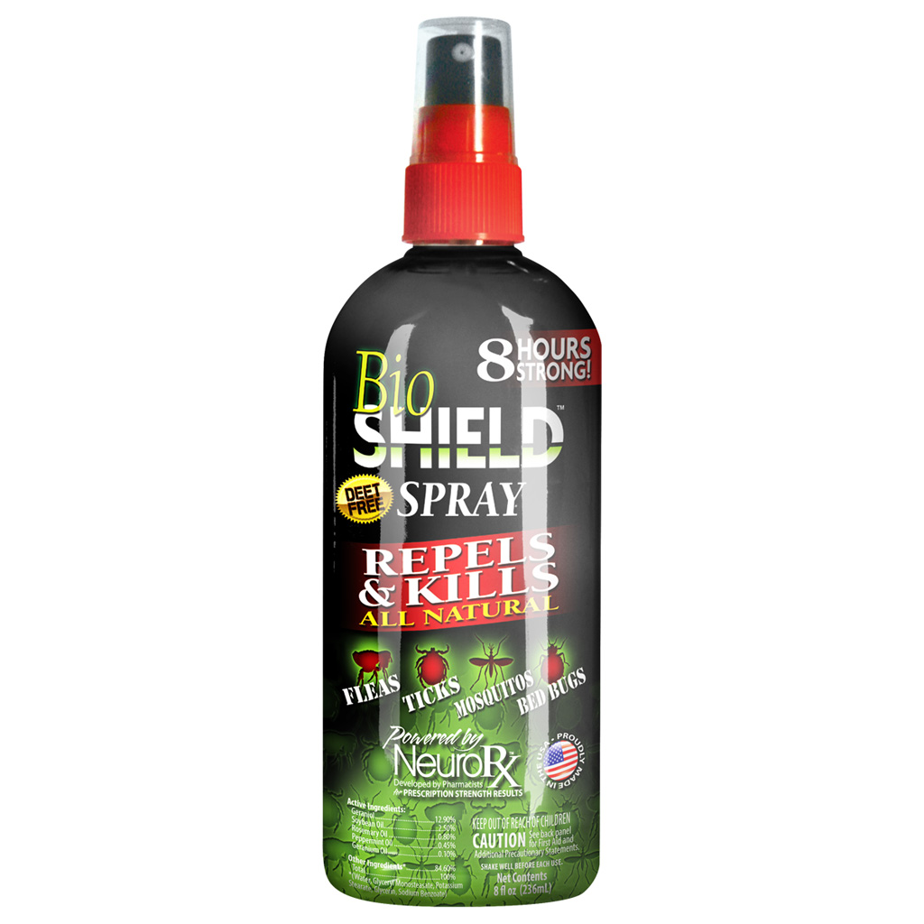 Top Secret BioShield Spray  <br>  8 oz.