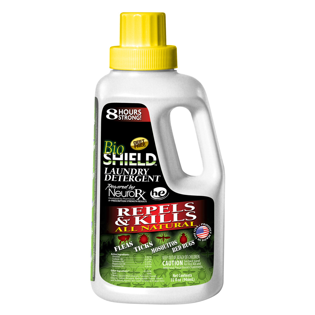 Top Secret BioShield Laundry Detergent  <br>  32 oz.