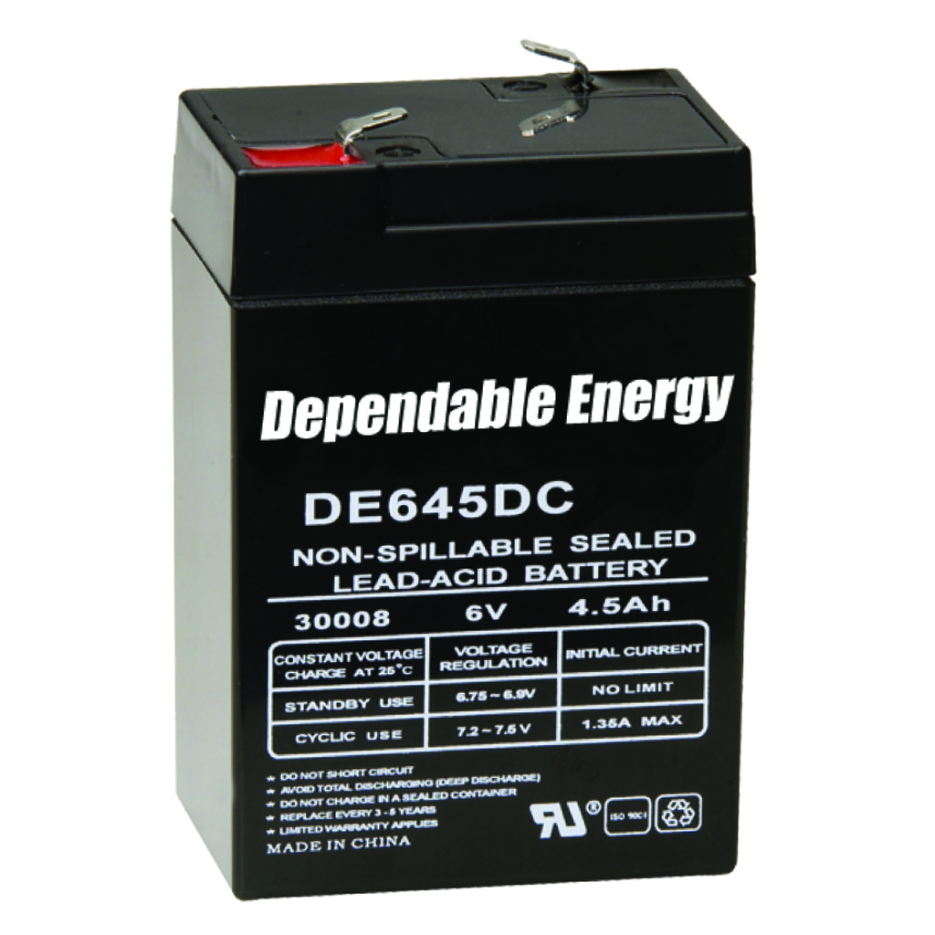 American Hunter Rechargeable Battery  <br>  6V F-Tab
