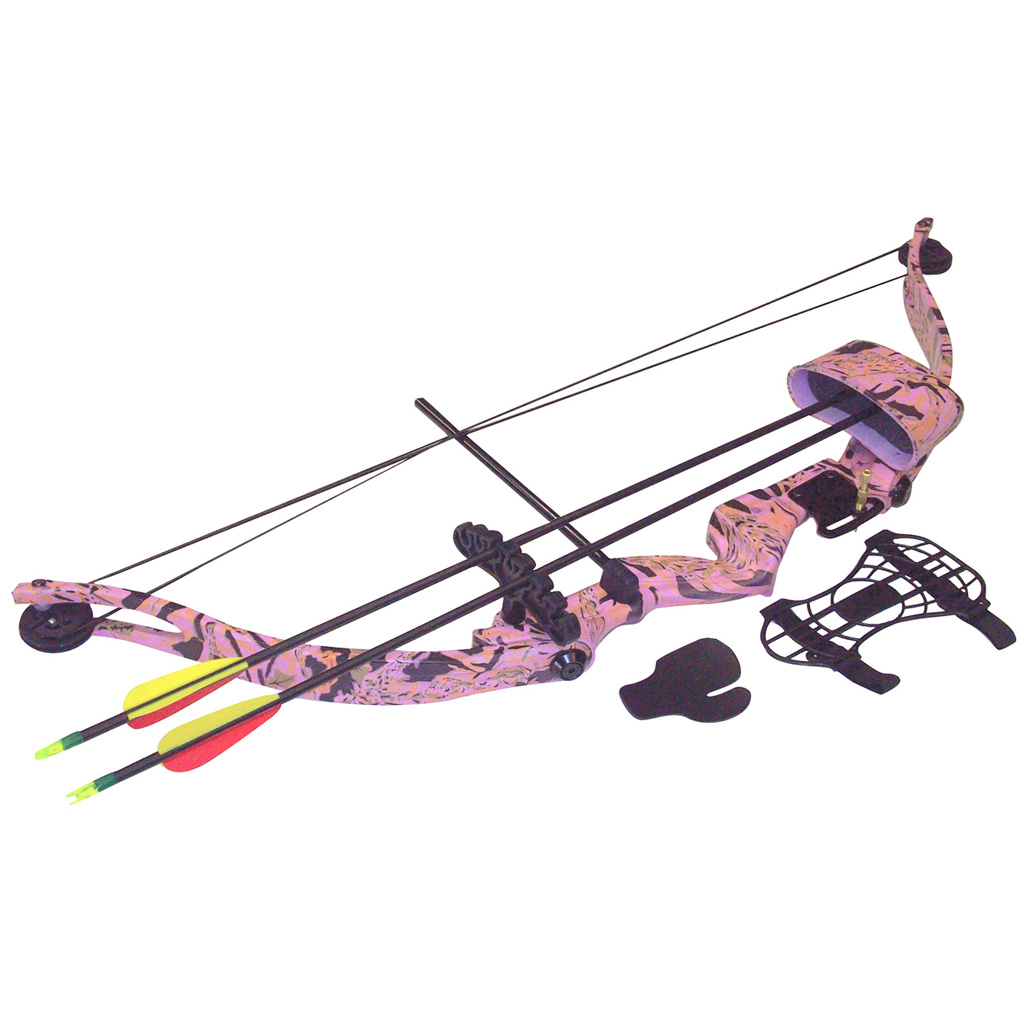 SA Sports Majestic Youth Bow Package  <br>  Pink Camo 20 lbs. RH