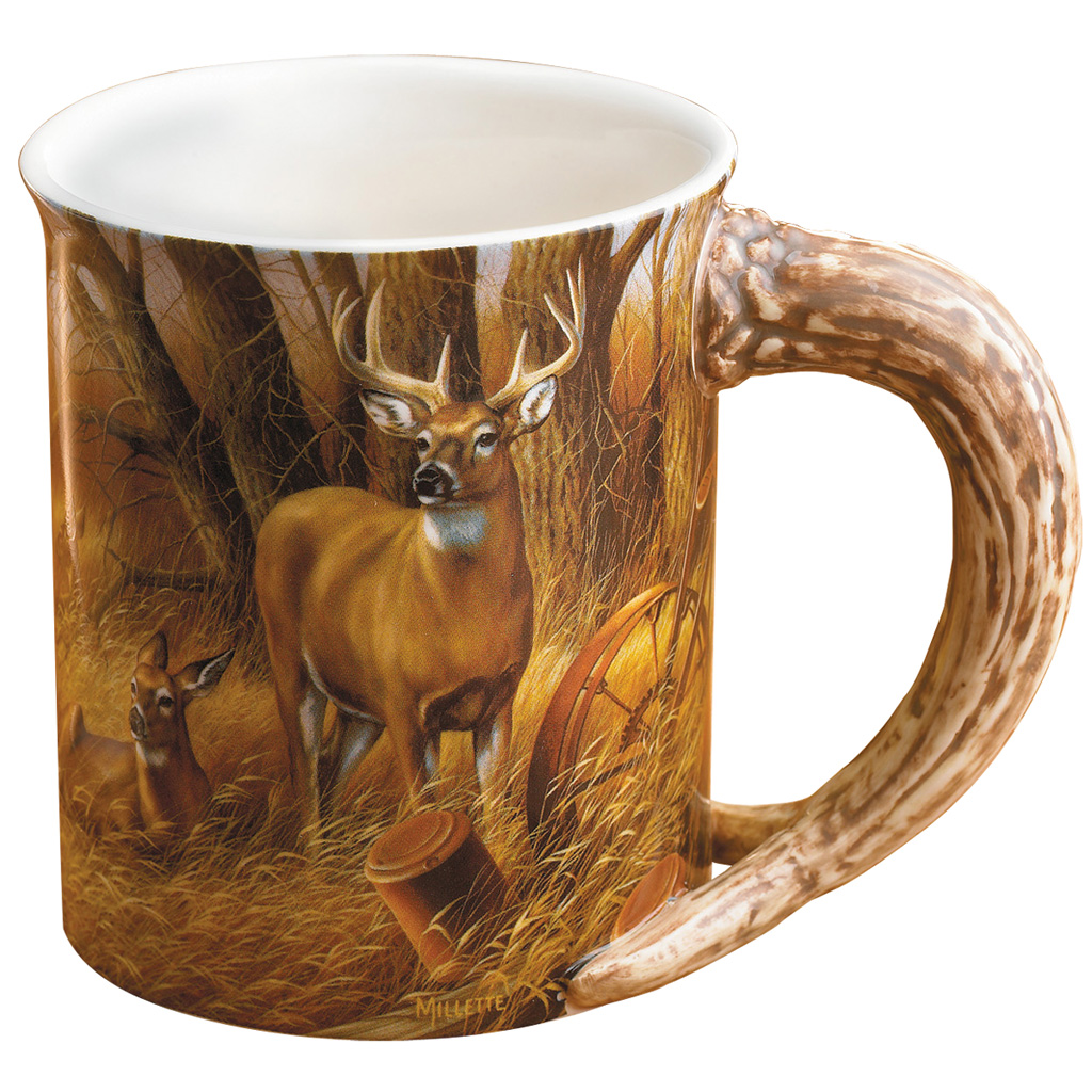 Wild Wings Sculpted Mug  <br>  Rustic Retreat