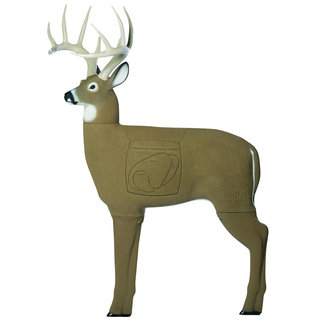 GlenDel Crossbow Buck Target  <br>