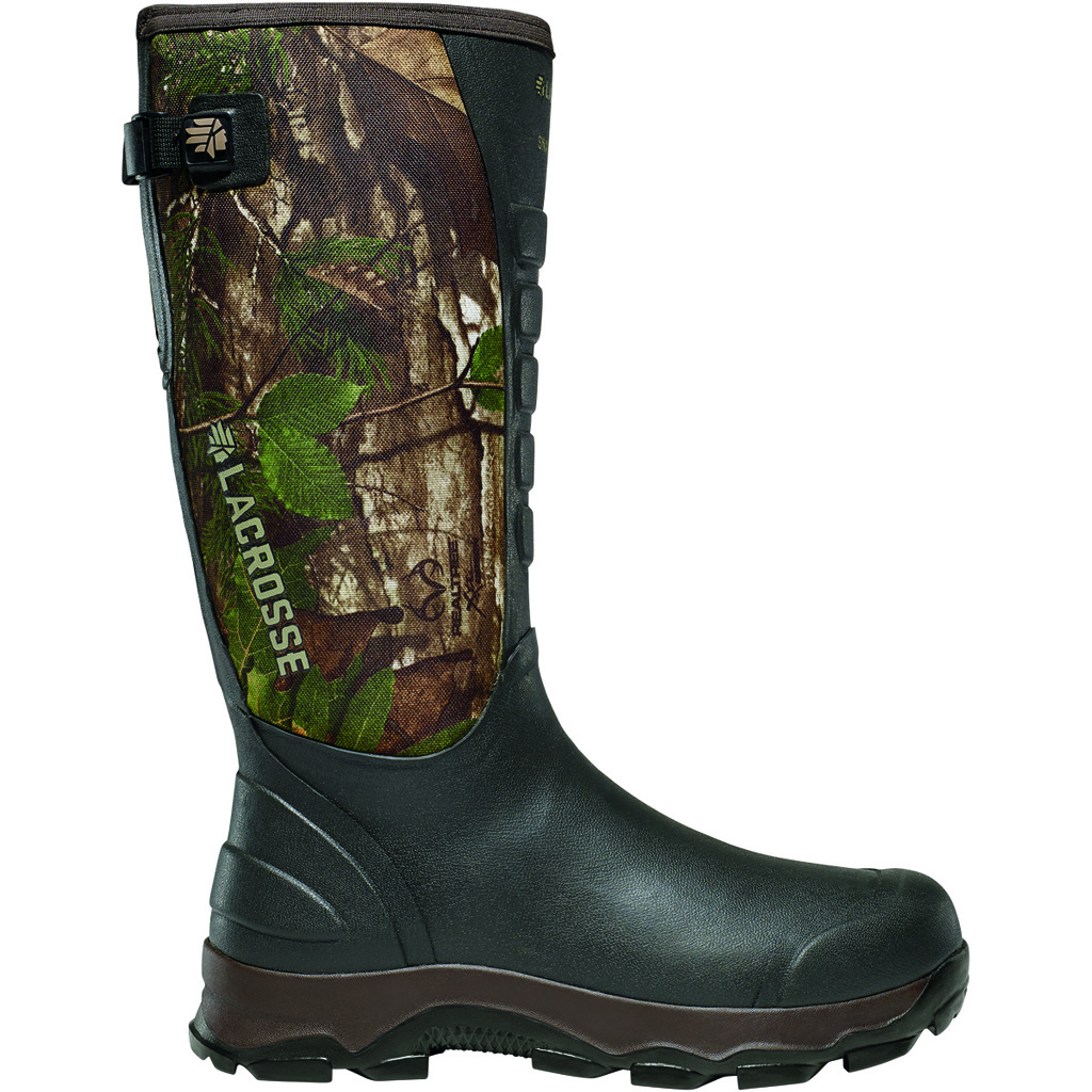 LaCrosse 4X Alpha Snake Boot  <br>  Realtree Xtra Green 13