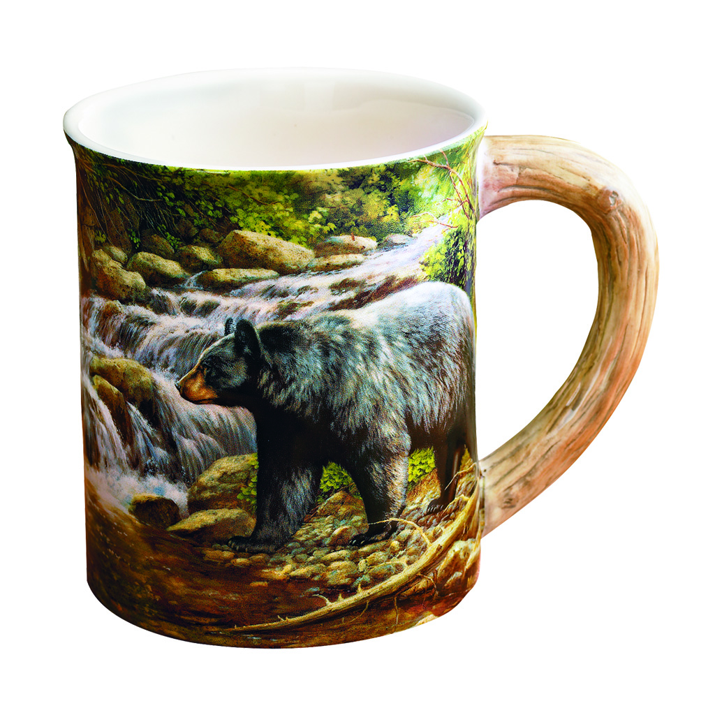 Wild Wings Sculpted Mug  <br>  Shadow of the Forest Bear