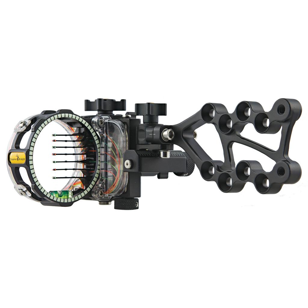 Trophy Ridge React Pro Sight  <br>  Black 7 Pin .010 RH