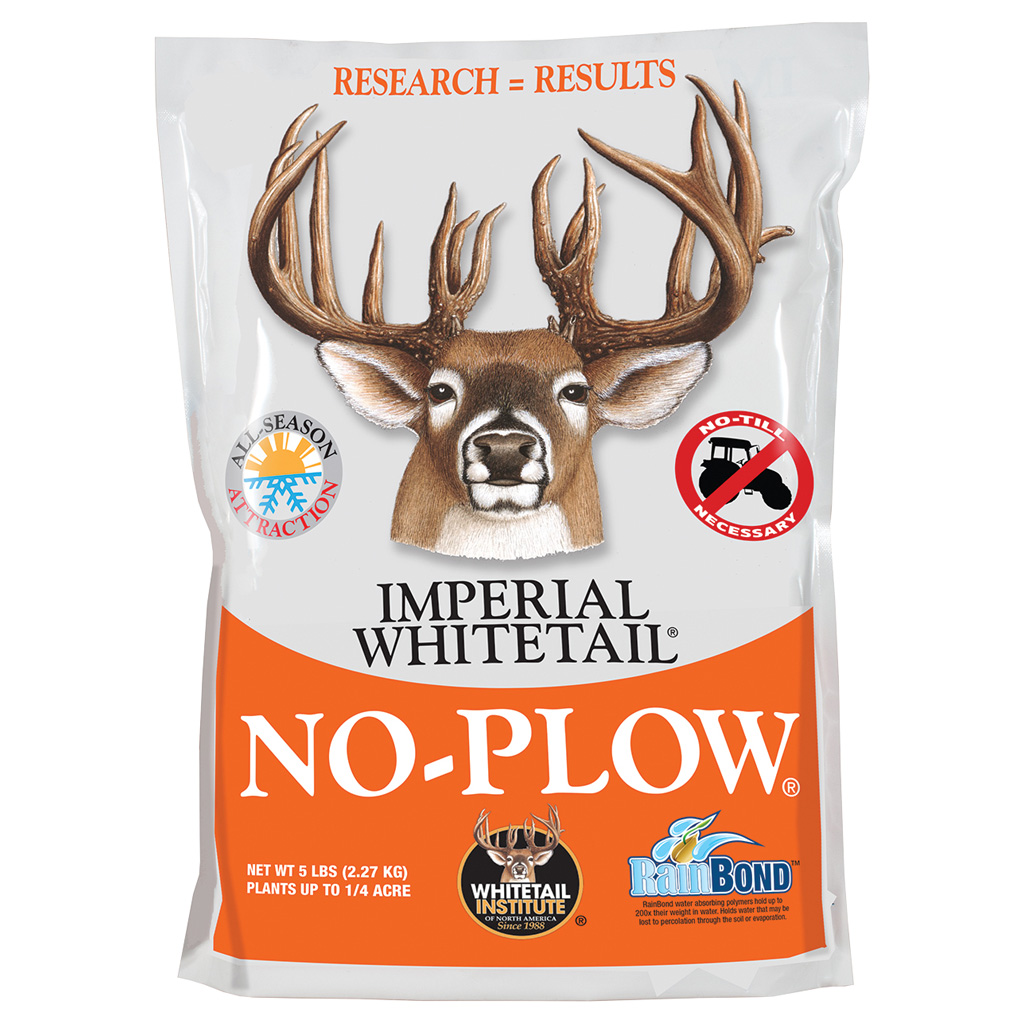 Whitetail Institute No-Plow Wildlife Seed Blend  <br>  5 lb.