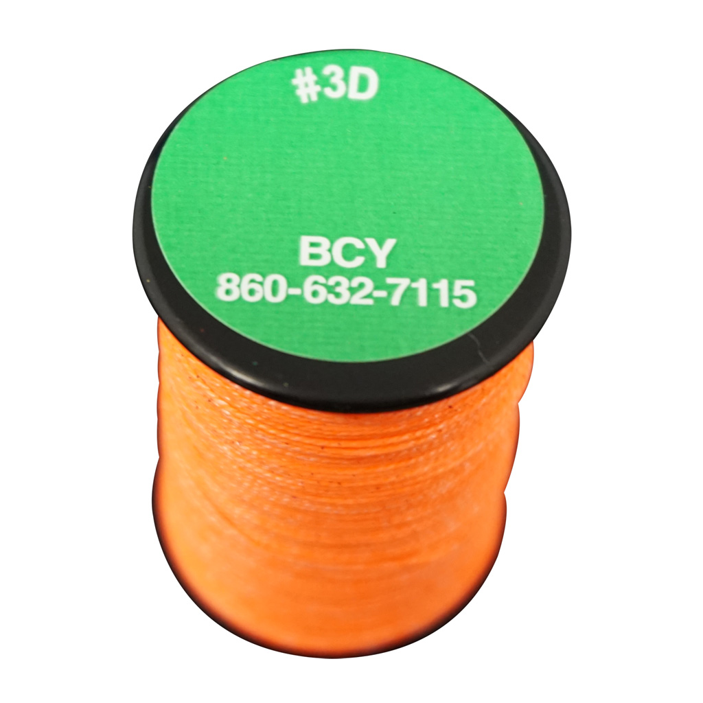 BCY 3D End Serving  <br>  Neon Orange 120 yds.