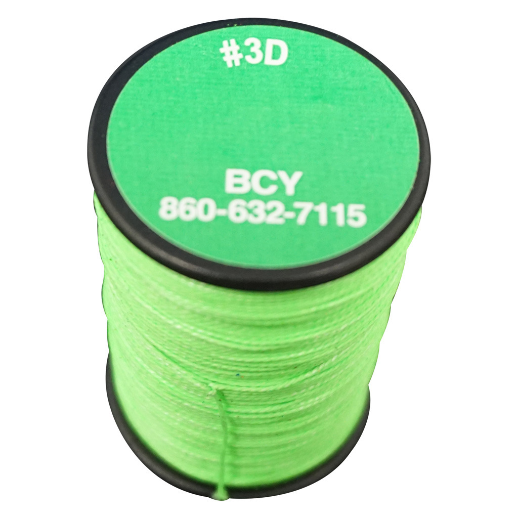 BCY 3D End Serving  <br>  Neon Green 120 yds.