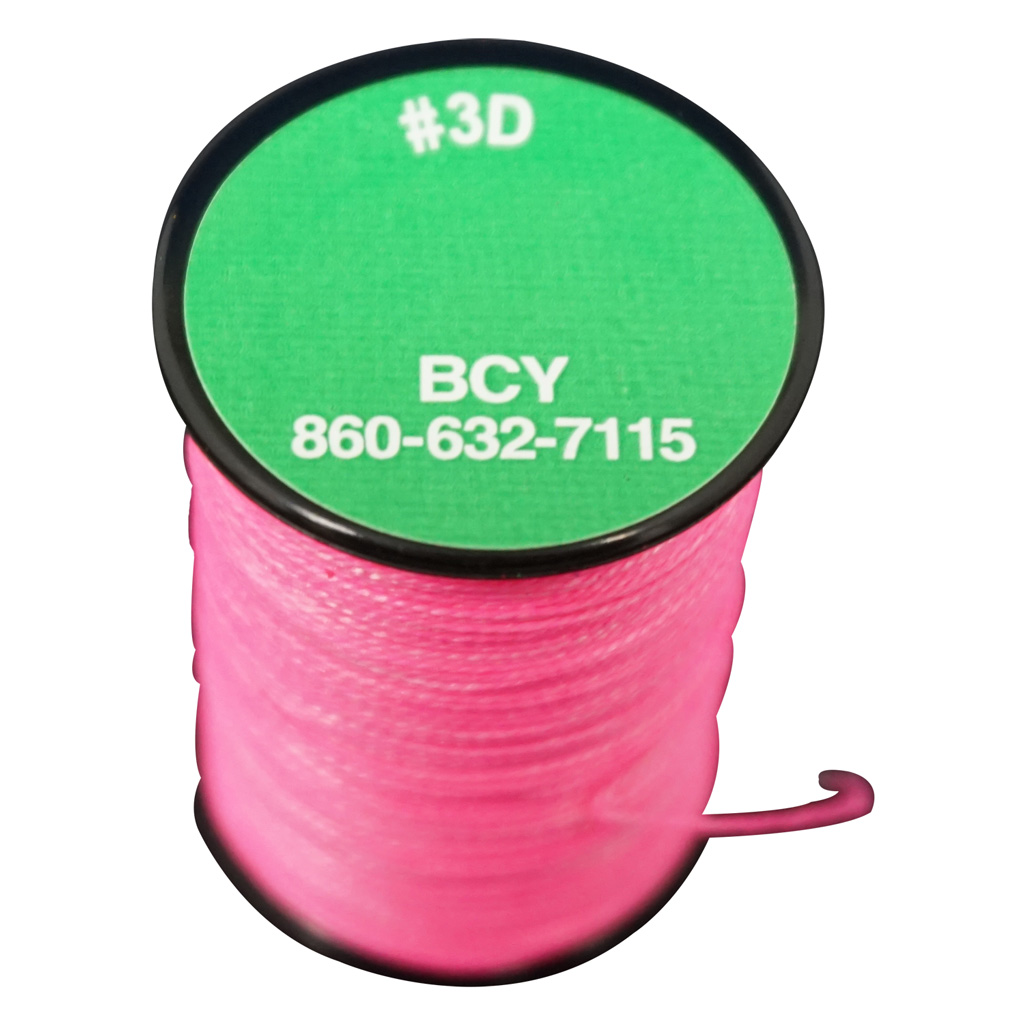 BCY 3D End Serving  <br>  Neon Pink 120 yds.