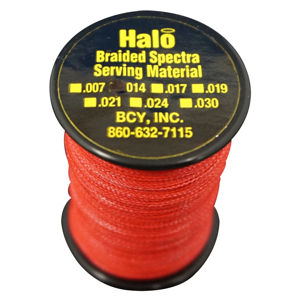 BCY Halo Serving  <br>  Red .014 120 yds.
