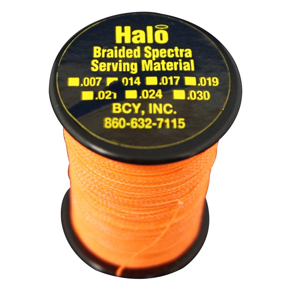 BCY Halo Serving  <br>  Neon Orange .014 120 yds.