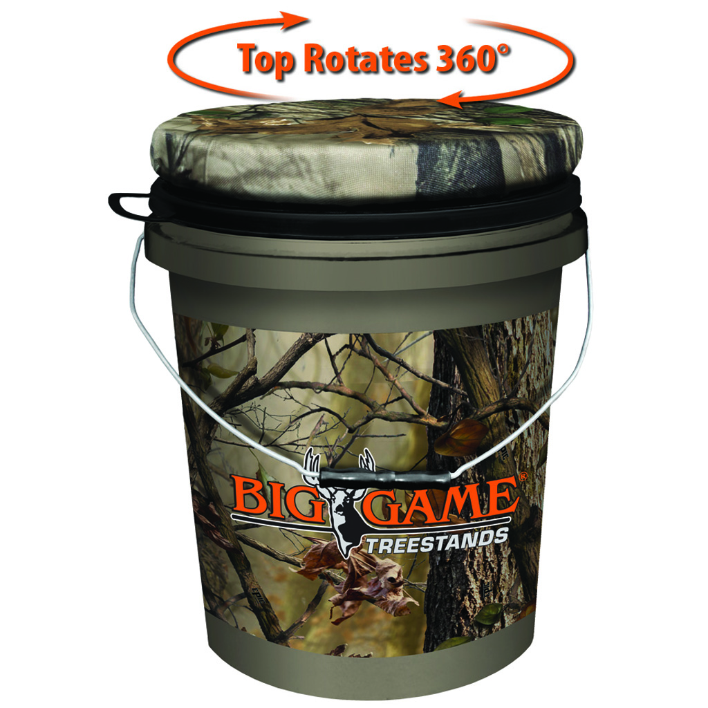 Muddy Spin Top Bucket  <br>  Camouflage