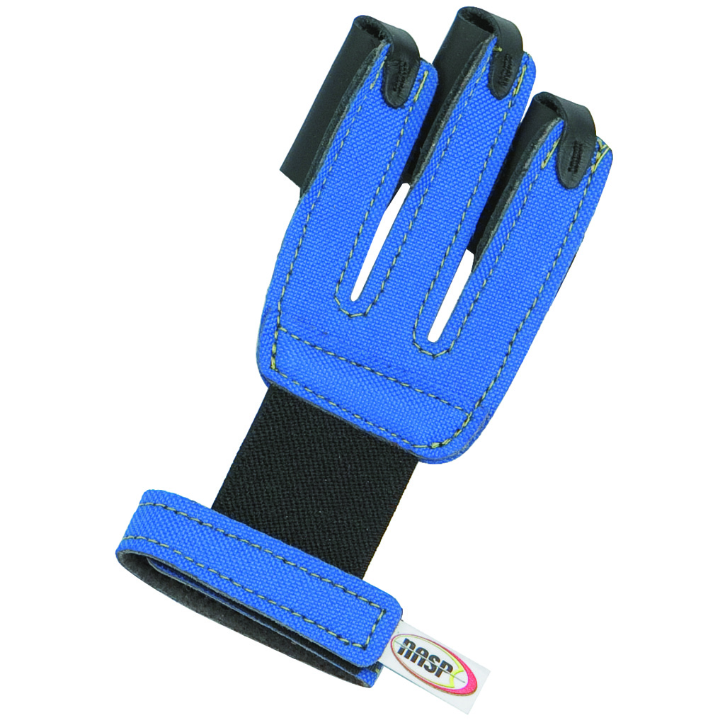 Neet NASP Youth Shooting Glove  <br>  Blue Regular