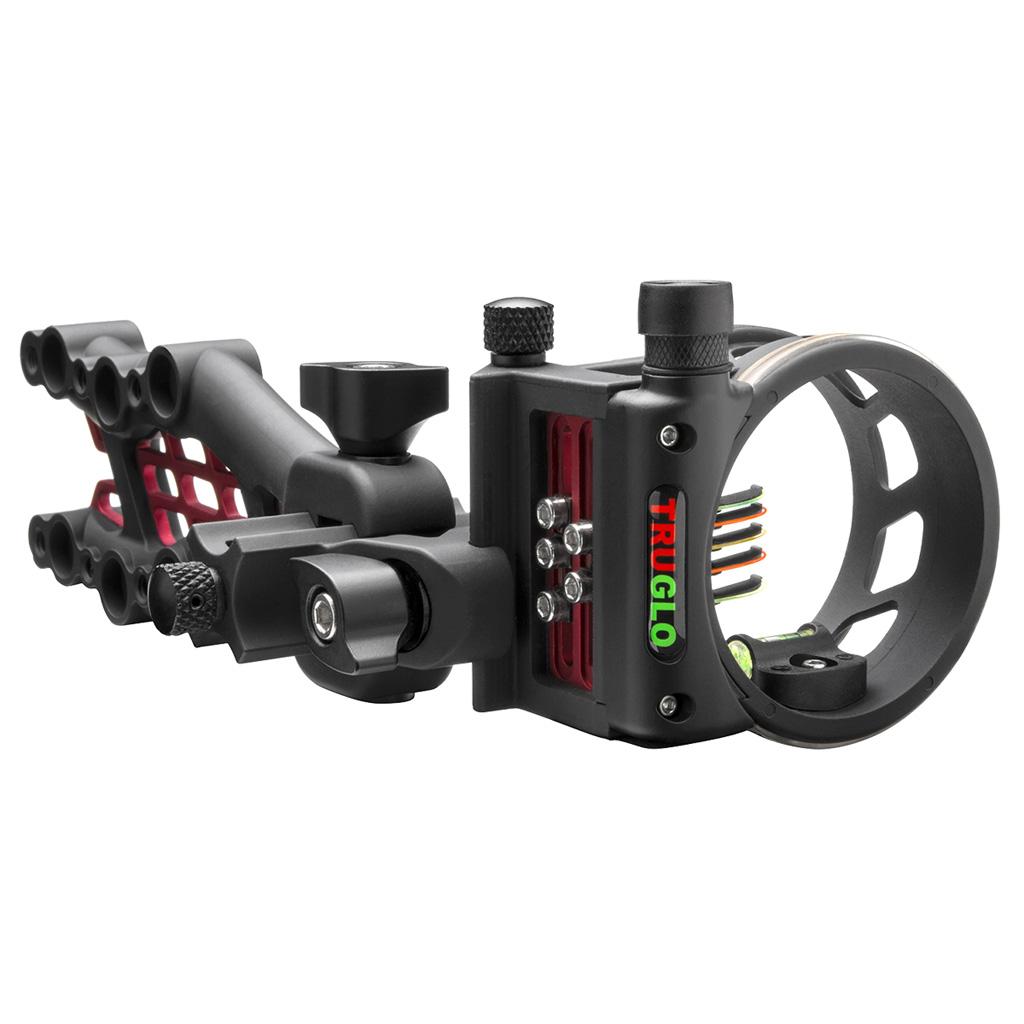 TruGlo Carbon Hybrid Micro Sight  <br>  Black 5 Pin .019 RH/LH