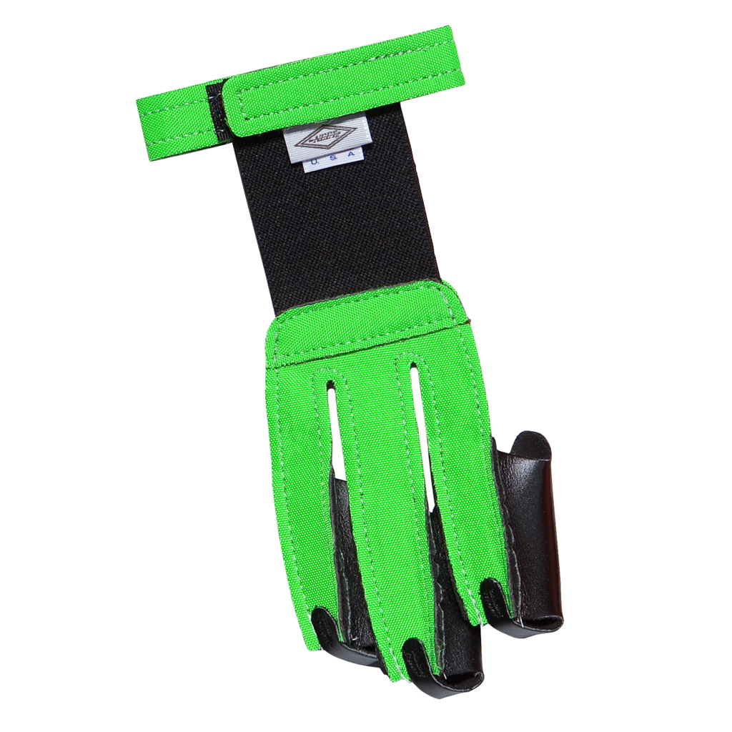 Neet FG-2N Shooting Glove  <br>  Neon Green Small