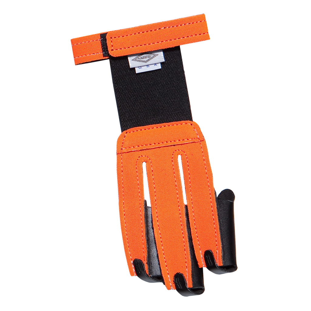 Neet FG-2N Shooting Glove  <br>  Neon Orange Small