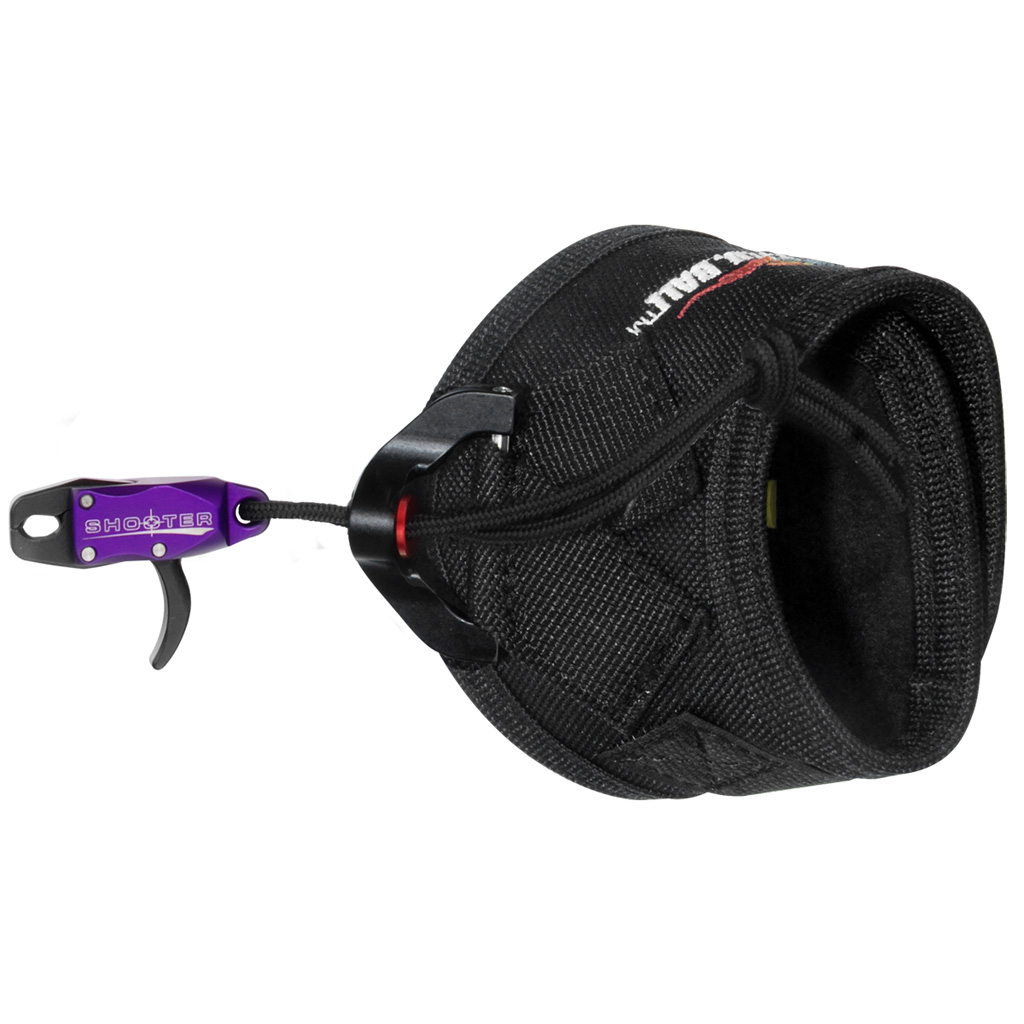 TRU Ball Shooter Release  <br>  Velcro Purple Junior
