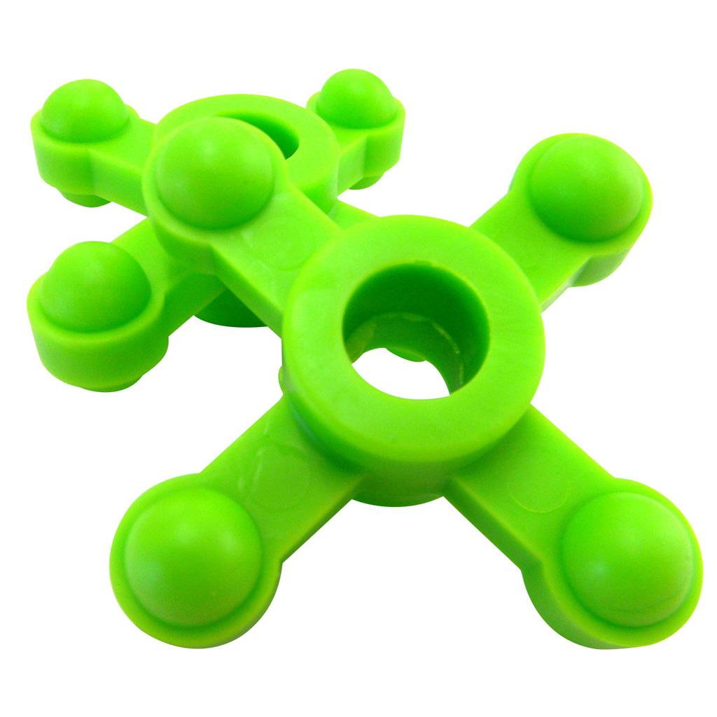 BowJax MaxJax Dampener  <br>  Neon Green 5/8-1 in. 2 pk.