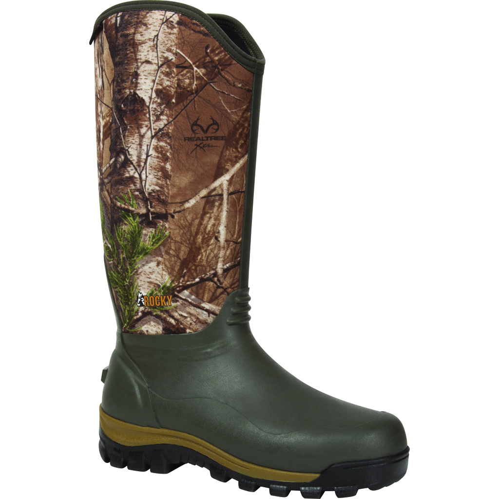 Rocky Core Neoprene Boot  <br>  1000g Realtree Xtra 10