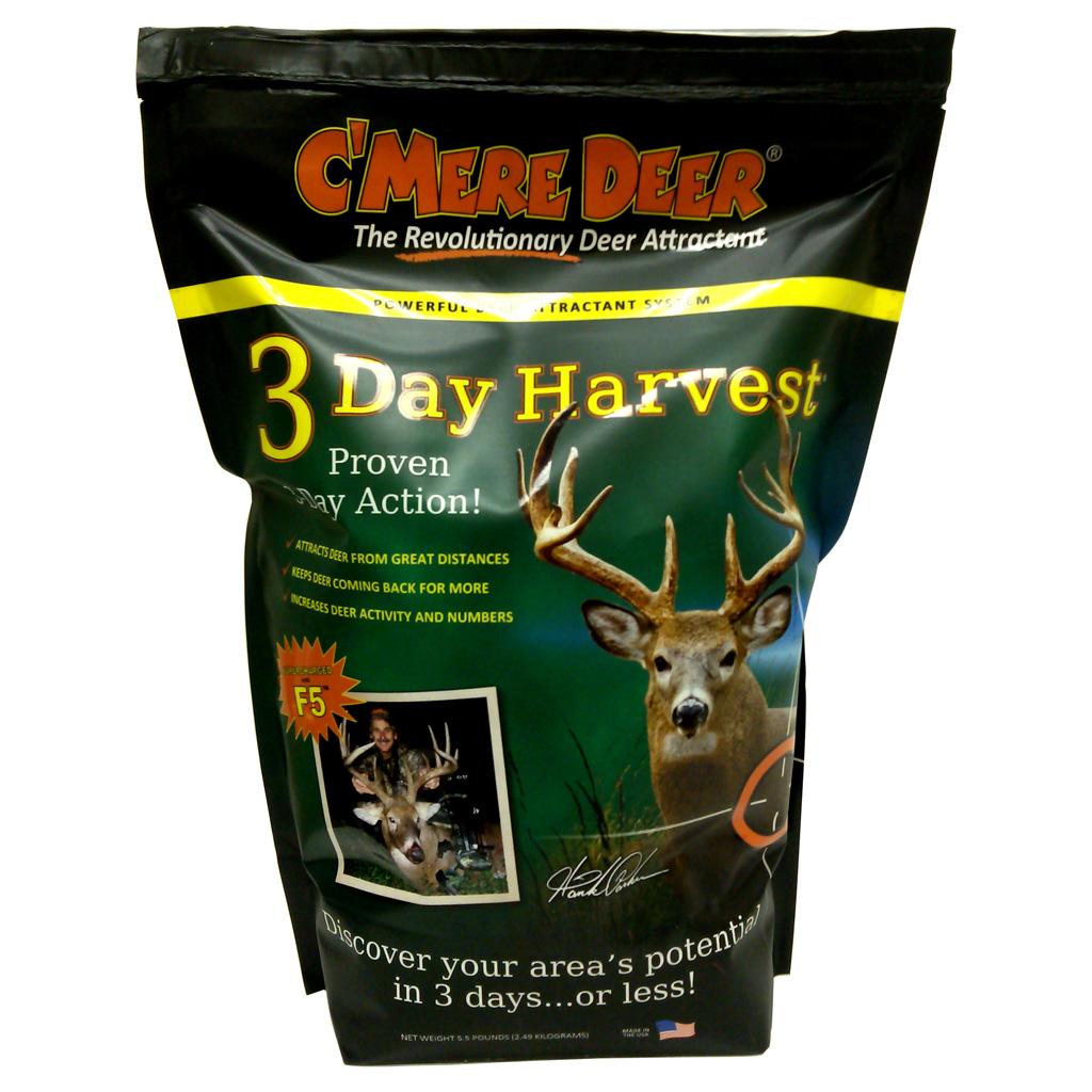 Cmere Deer 3 Day Harvest Attractant  <br>  5.5 lb. Bag