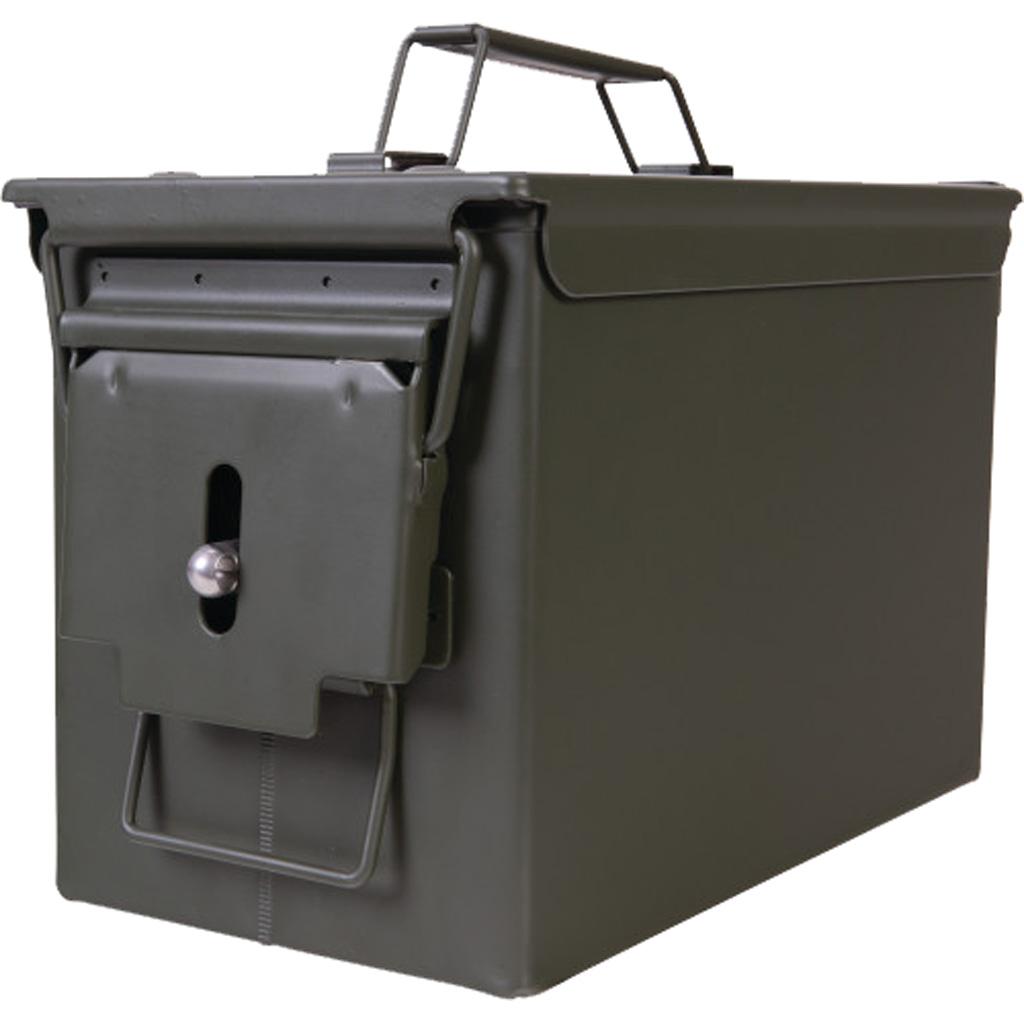 Allen Steel Ammo Box  <br>  .50 cal.