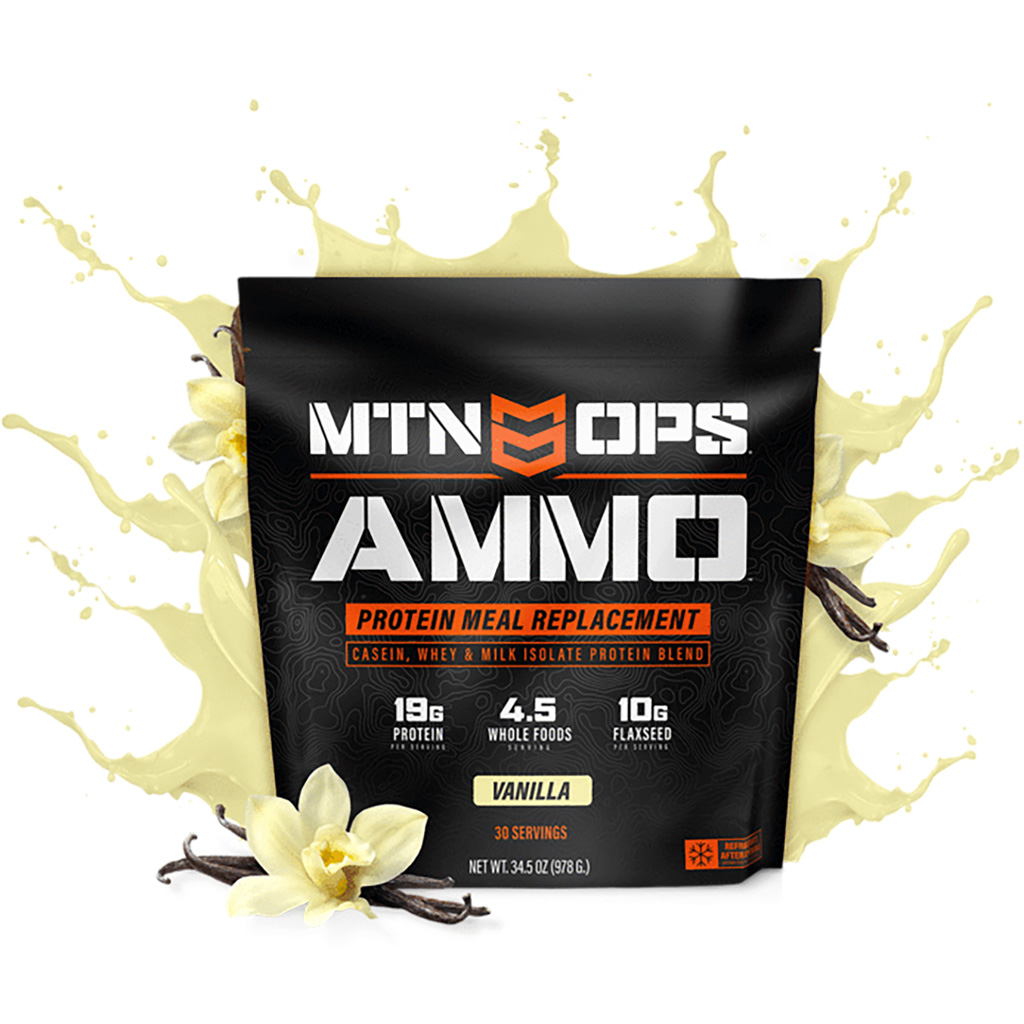MTN OPS Ammo Whey Protein  <br>  Meal Replacement Vanilla