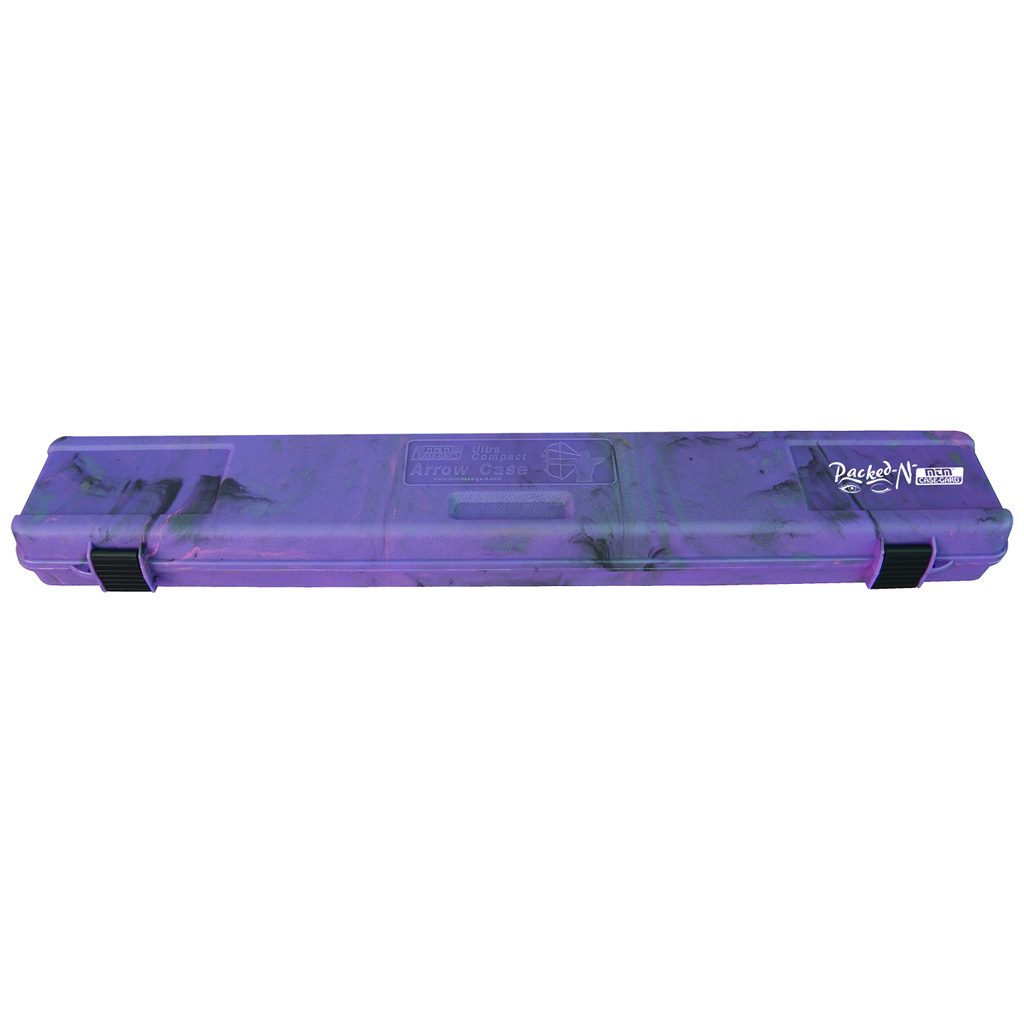 MTM Ultra Compact Arrow Case  <br>  Purple Camo