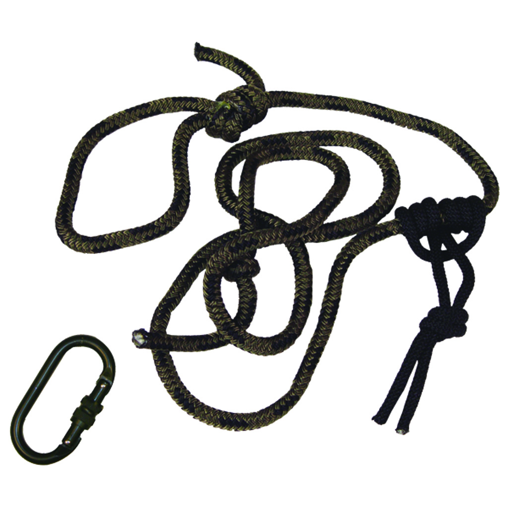 Summit Linesmans Rope w/Carabiner  <br>  8 ft.