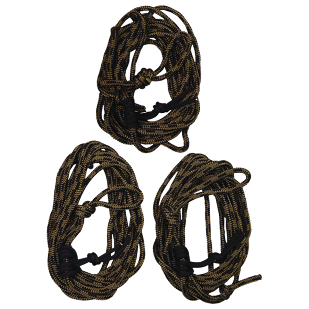 Summit Safety Line w/Dual Prussic Knots  <br>  30 ft. 3 pk.