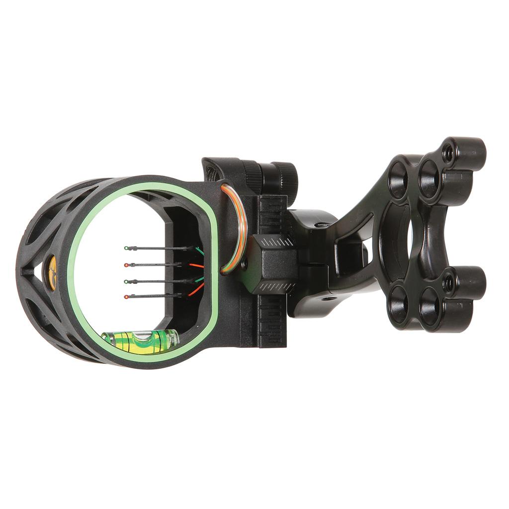 Trophy Ridge Joker Sight  <br>  Black 4 Pin .019 RH/LH