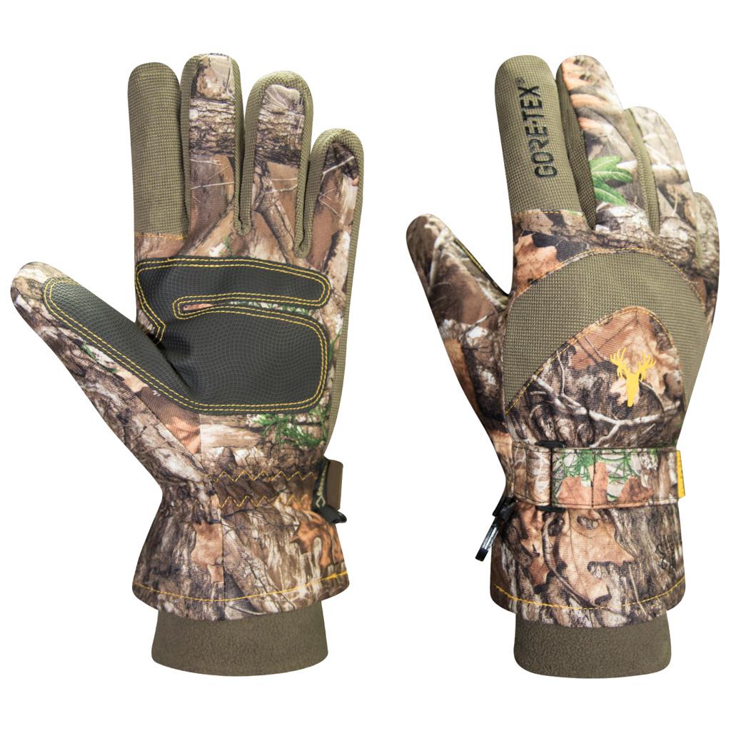 Hot Shot The Hunter Glove  <br>  Realtree Edge Medium