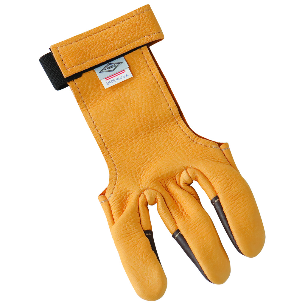 Neet DG-1H Shooting Glove  <br>  Calf Hair Tips Small