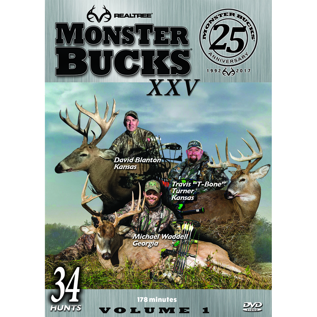 Realtree Monster Bucks XXV DVD  <br>  Volume 1