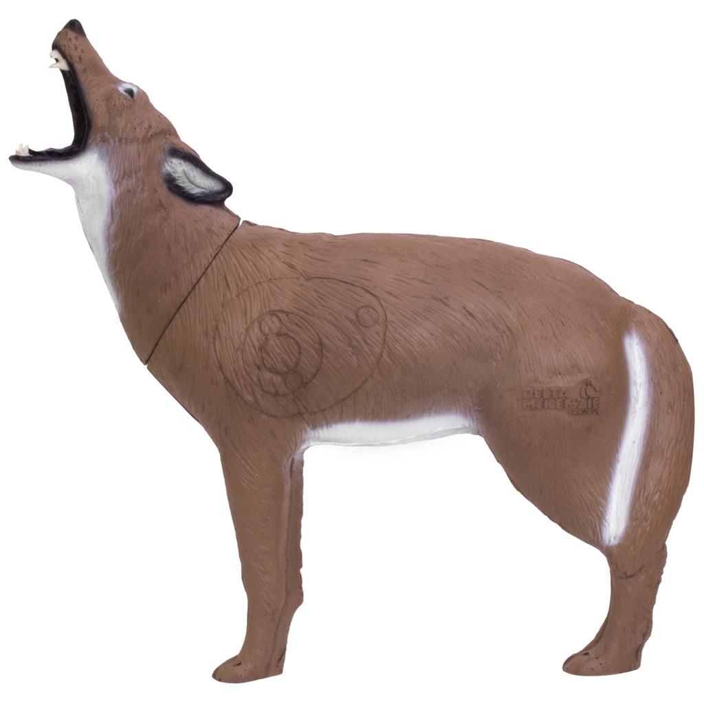 Delta McKenzie Backyard 3D Target  <br>  Howling Coyote