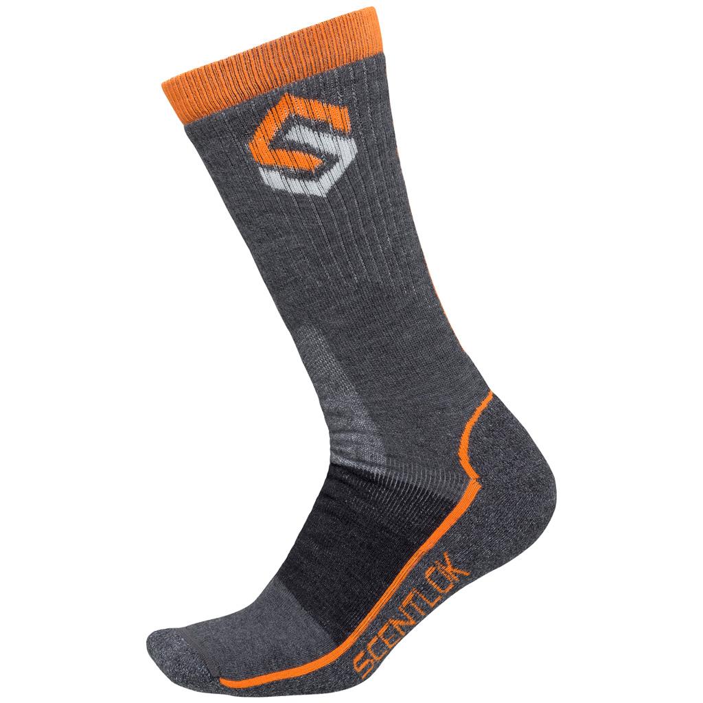 ScentLok Merino Hiking Sock  <br>  Charcoal X-Large