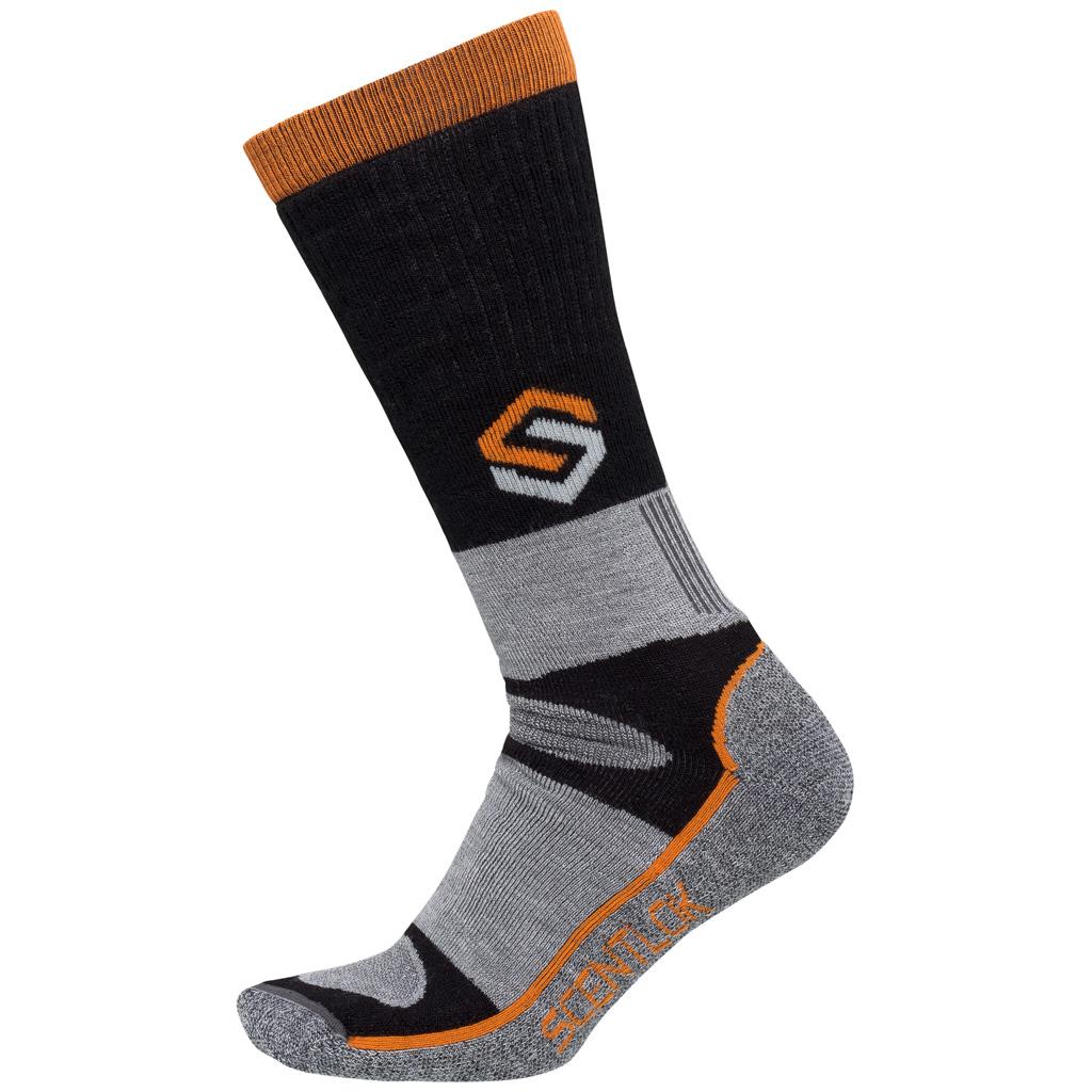 ScentLok Thermal Crewmax Sock  <br>  Black Large