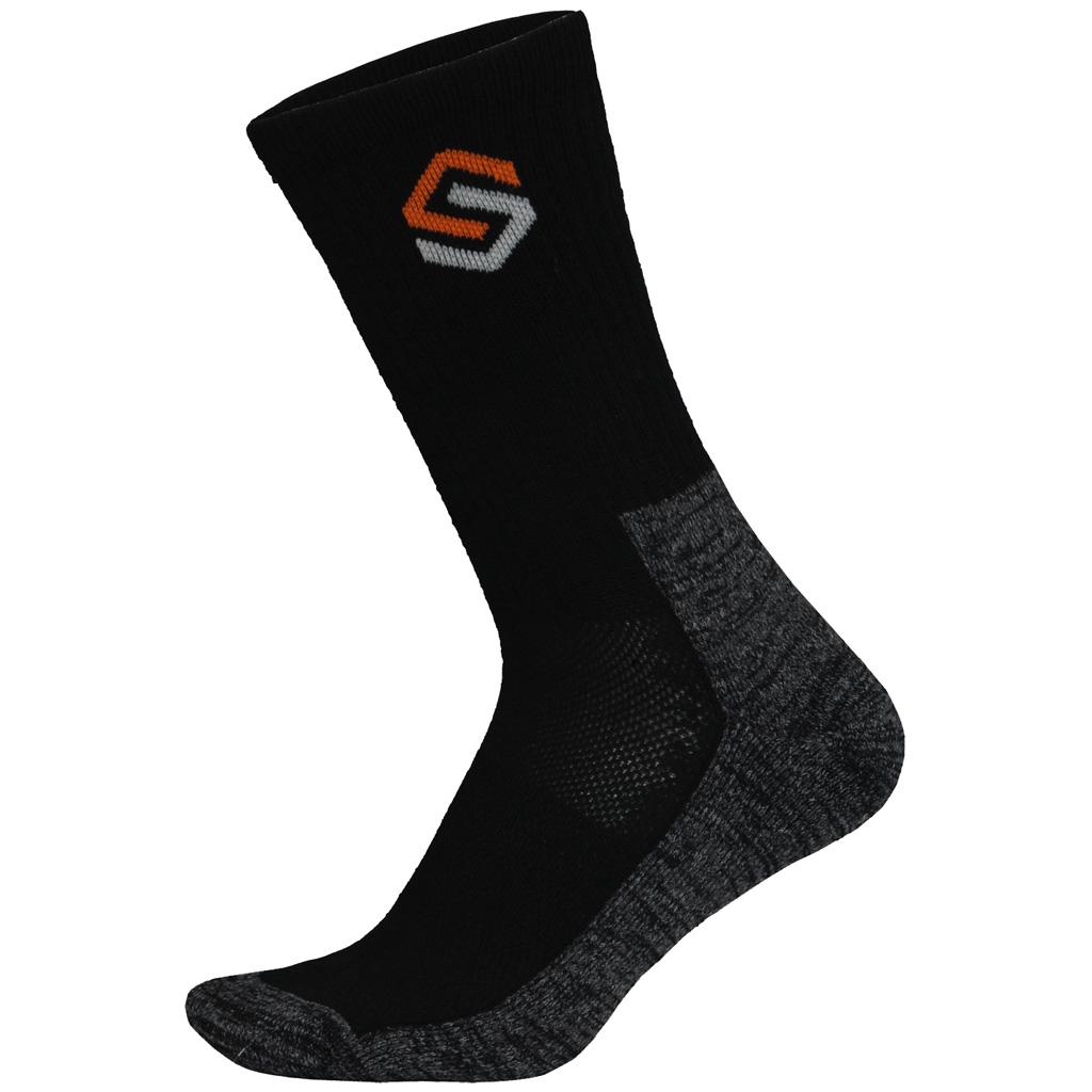 ScentLok Everyday Sock  <br>  Black Large