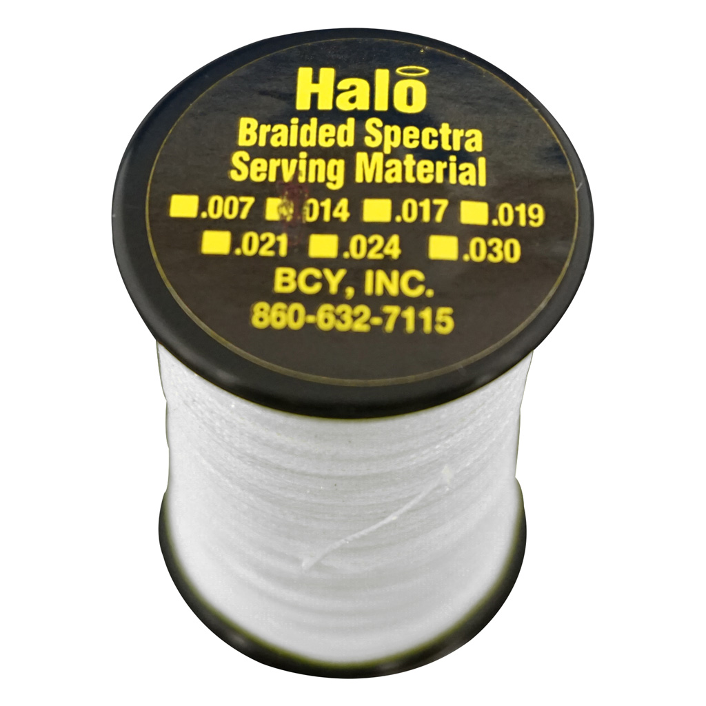 BCY Halo Serving  <br>  White .014 120 yds.