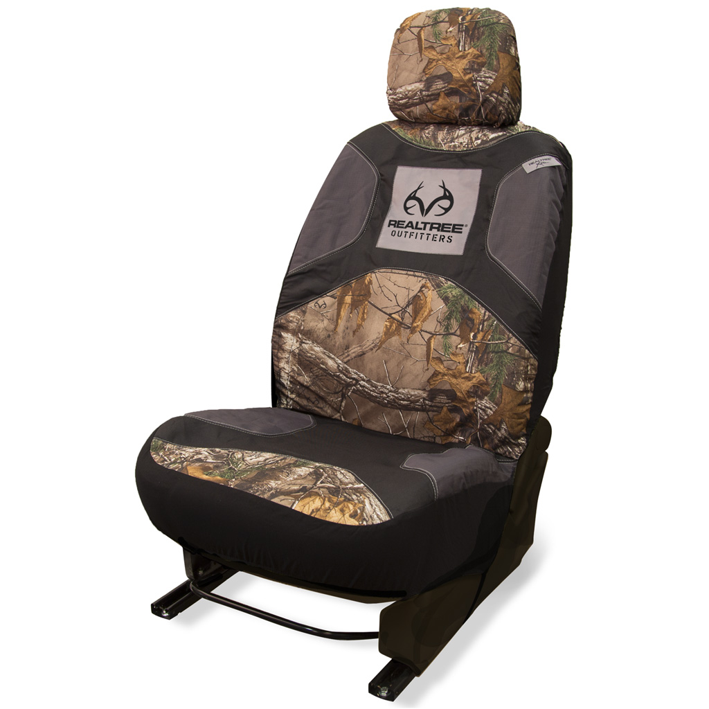 Realtree Low Back Seat Cover  <br>  Realtree Xtra