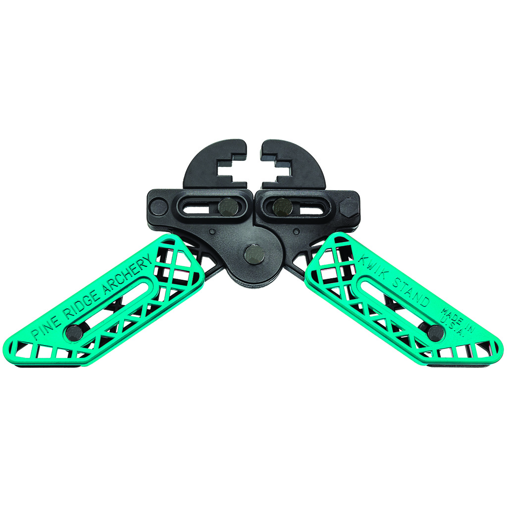 Pine Ridge Kwik Stand Bow Support  <br>  Turquoise/Black