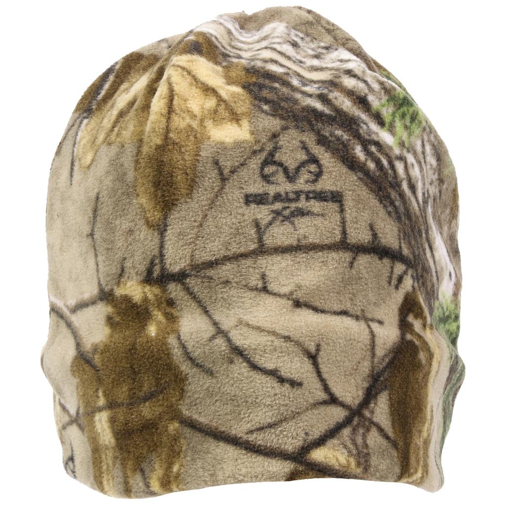 Outdoor Cap Reversible Fleece  <br>  Beanie Realtree Edge/Blaze