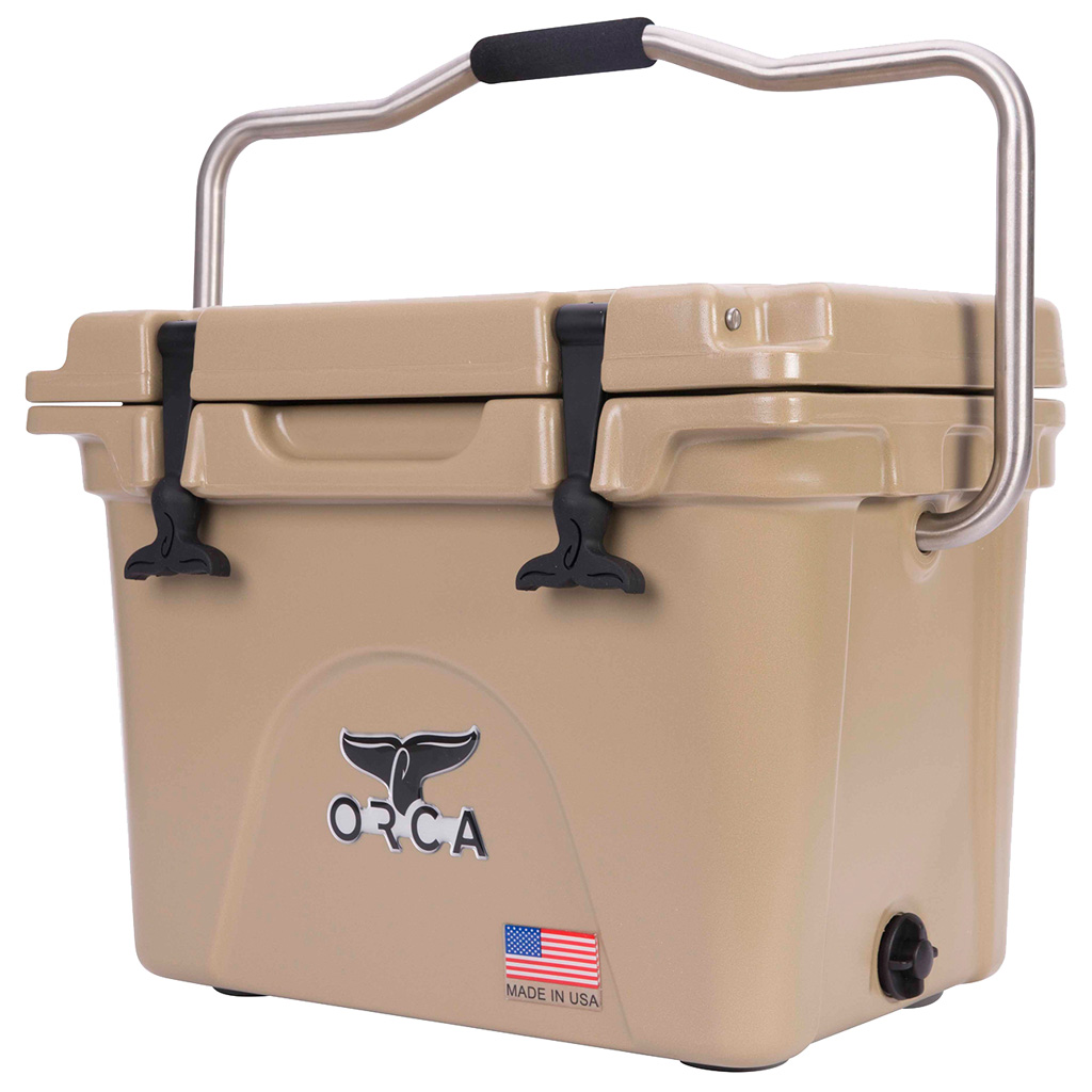 Orca Hard Sided Classic Cooler  <br>  Tan 20 Quart