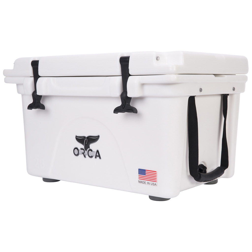 Orca Hard Sided Classic Cooler  <br>  White 26 Quart